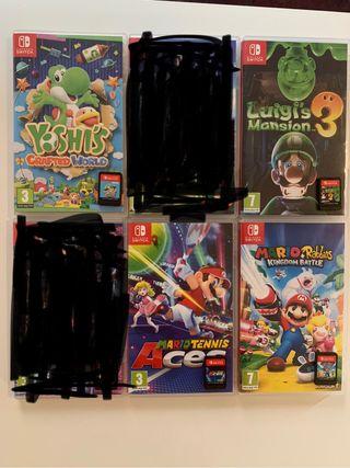 Juegos de Nintendo Switch en perfecto estado