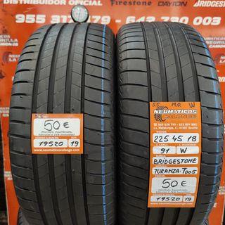 Neumáticos 225 45 18 91W M.O Bridgestone.Ref 19520
