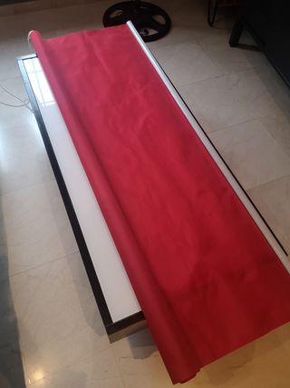 Estor rojo 150 cm