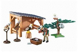 Playmobil: cuidador de halcones SIN ABRIR