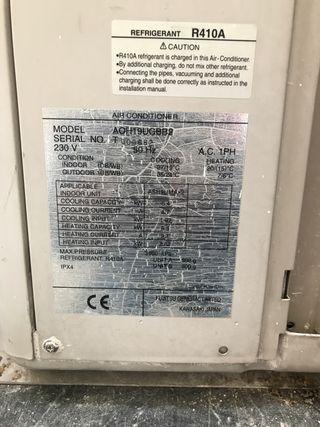 Unidad aire acondicionado