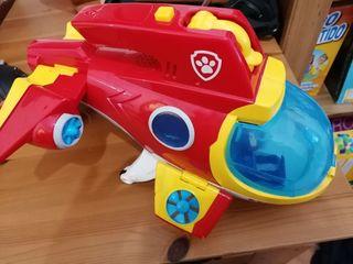 avion/submarino patruya canina al rescate