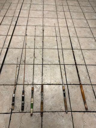 Cañas de pesca trucha i carpa