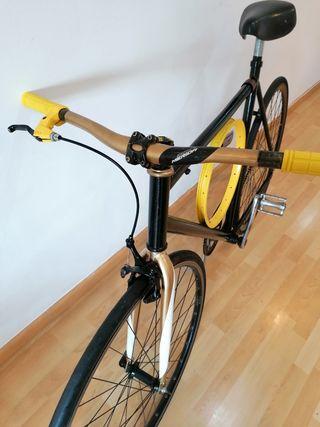 Fixie talla grande L XL Bicicleta ciudad