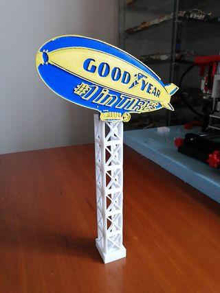 Zepelin Goodyear scalextric