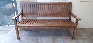 Banco de jardín madera