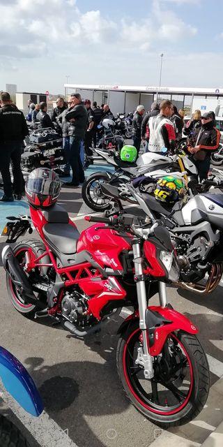 Moto Benelli bn 125cc año2018