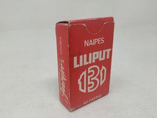 Baraja mini Liliput 131 Fournier. Sin timbre.