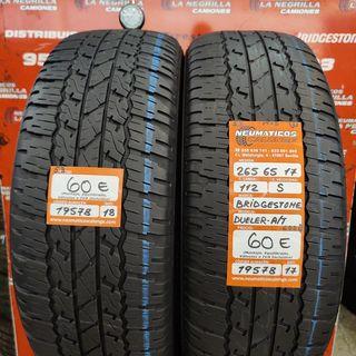 Neumaticos 265 65 17 112S Bridgestone. Ref 19578