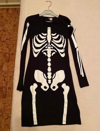 Disfraz de esqueleto H&M para mujer adulta