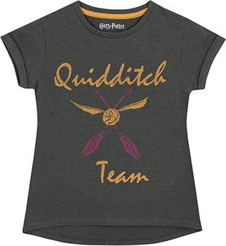 HARRY POTTER Camiseta para niñas Quidditch