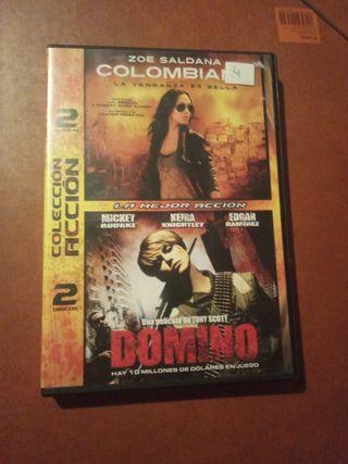 DVD pelicula Coleccion Accion 2 peliculas