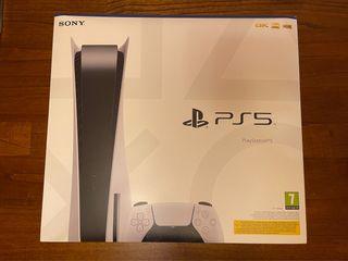Playstation 5 Edición Lector Blu ray