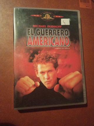DVD pelicula El guerrero americano