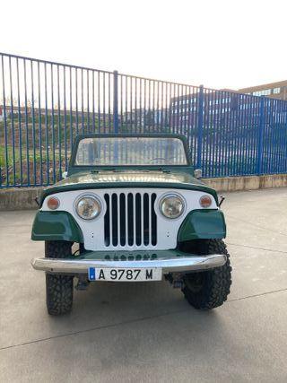 Jeep Comando motor diesel Perkins 4-108 de 1.800 c