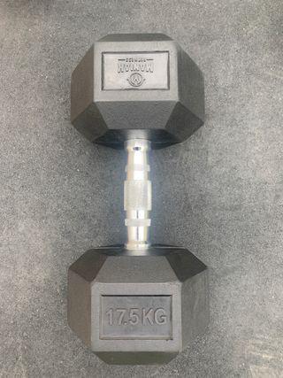 Mancuerna 17,5 kg