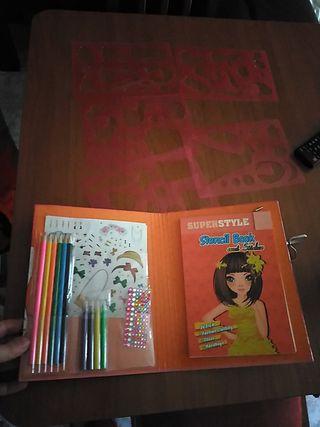 cuaderno para dibujar superstyle