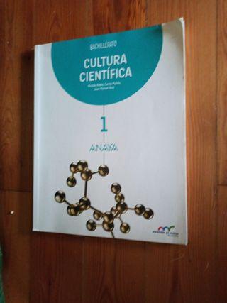 Cultura Científica 1 Bachillerato Ed Anaya