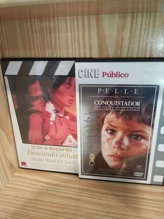 Dvd Deseando amar/Pelle el conquistador