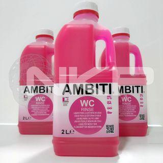 Ambiti Rinse 2L WC Químicos Camper Autocaravana