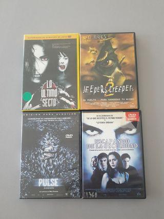 Pack dvd terror