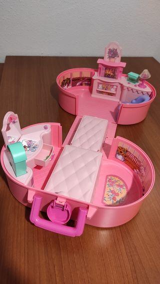 Maletín habitación, tocador Barbie