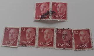 7 Sellos Franco 10 cts