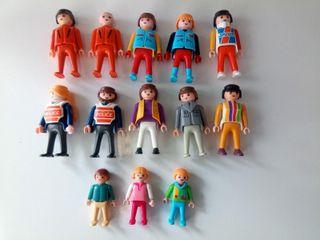 Lote Playmobils años 80 y 90
