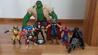 pack muñecos superheroes