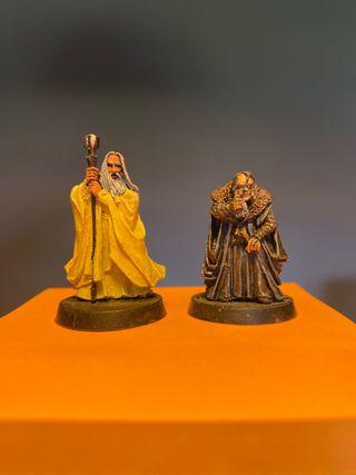Saruman y Grima Warhammer esdla