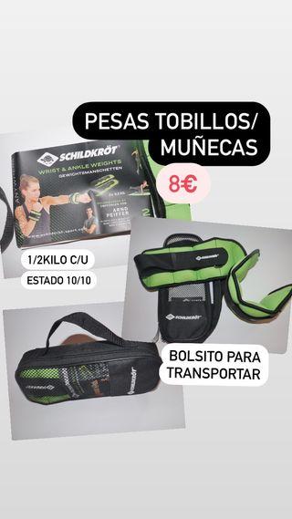 PESAS TOBILLOS/MUÑECAS