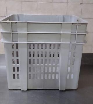 Caja apilable almacenamiento