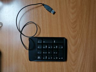 Vendo teclado numérico para ordenador