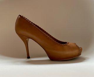 Zapatos tacón GUCCI. Talla 38+