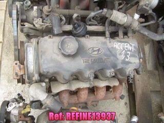 REFINE13937 Motor Hyundai Accent 1.3 12v