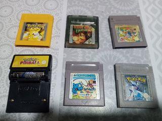 Juegos Game Boy en color