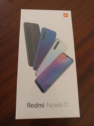 Xiaomi redmi Note 8T nuevo 128GB