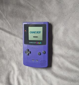 nintendo game boy color CGB-001 morada