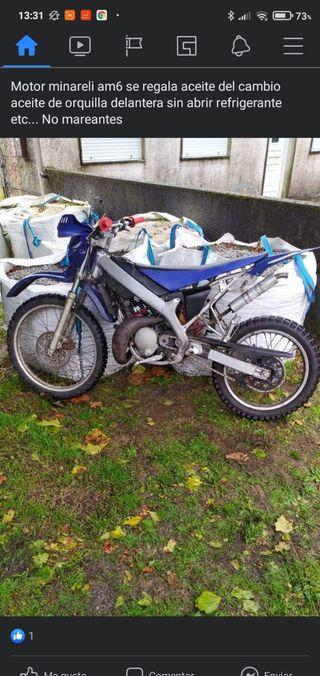se vende Yamaha DT 70 cc sin documentación