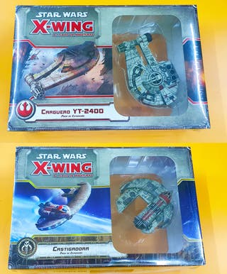 Pack X-Wing Castigadora y Carguero Yt-2400
