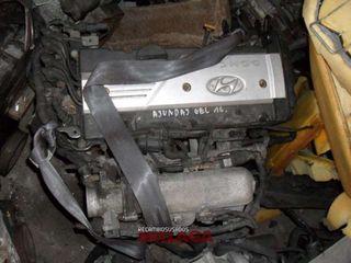 FREUX3649 Motor Hyundai Getz 1.6 16v