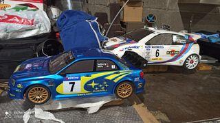 coche bycmo Subaru escala 1/10 rc gasolina