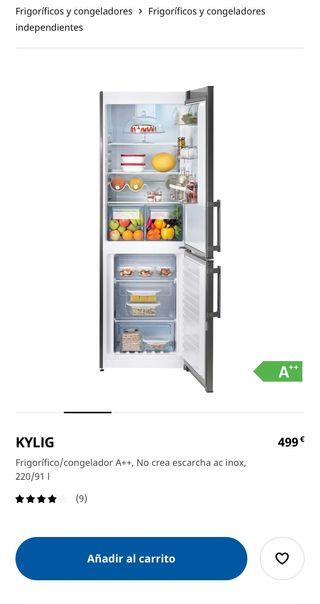 Nevera IKEA KYLIG