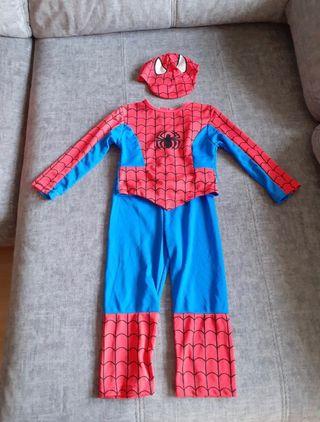 Disfraz spiderman talla 12 meses