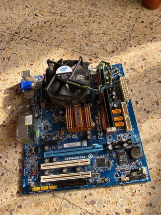 Combo Placa base Intel+CPU+RAM+Cooler