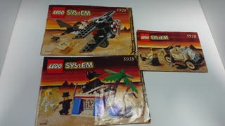 pack lego 5918 5928 5938