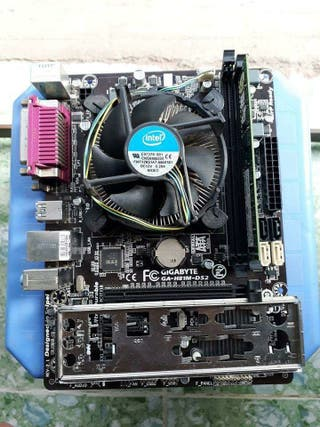 placa base+procesador+ 12gb de ram