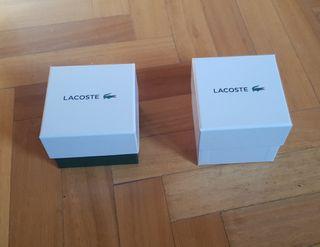 Cajas reloj Lacoste