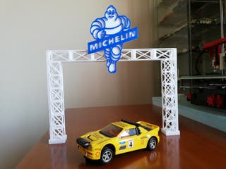 Puente Michelin scalextric