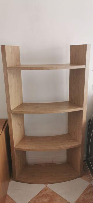 Mueble - estantería de 4 baldas